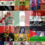 A bandeira da Síria em seu perfil